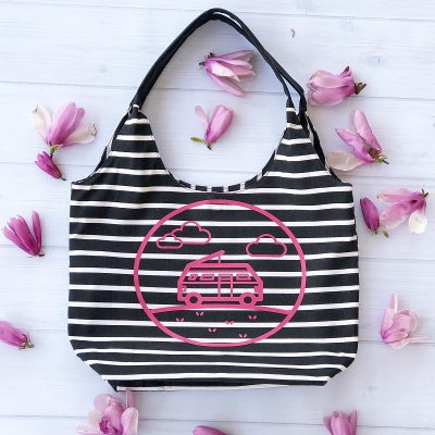 Overnight Bag Cricut Tutorial