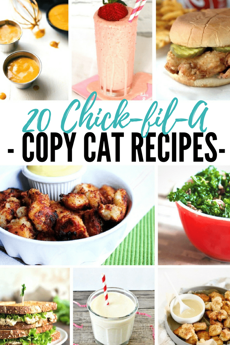 20 Chick fil A recipes - COPYCAT