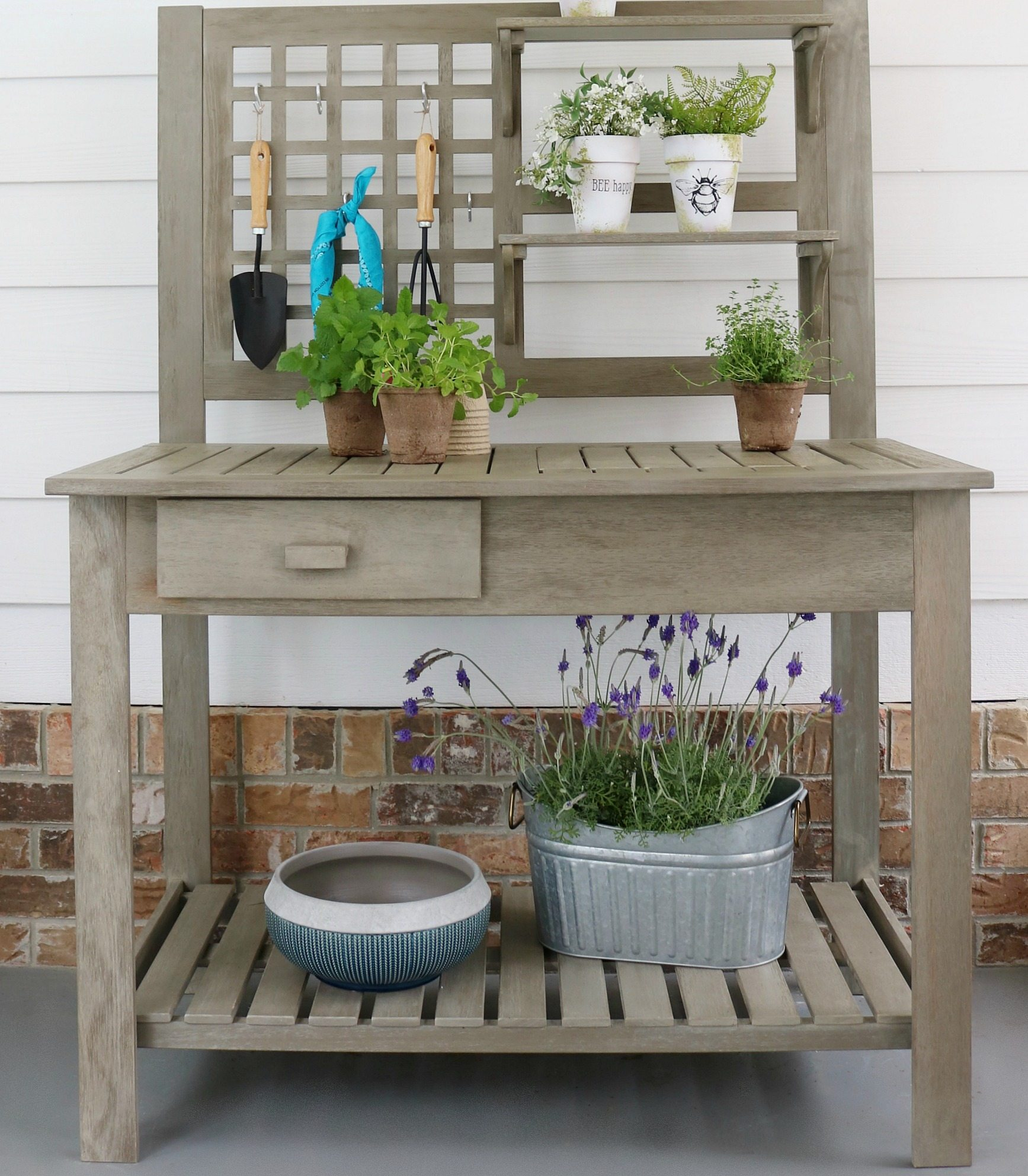 Better Homes and Gardens Potting Bench