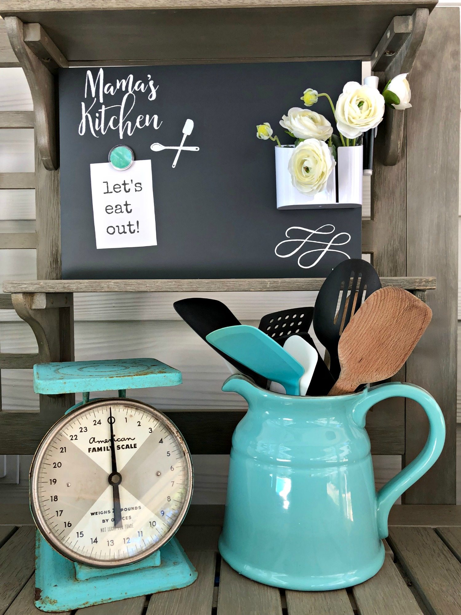 Chalkboard for the kitchen