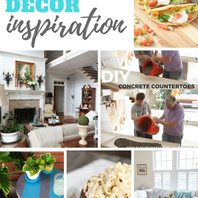 DIY Recipes & Decor Inspiration Monday