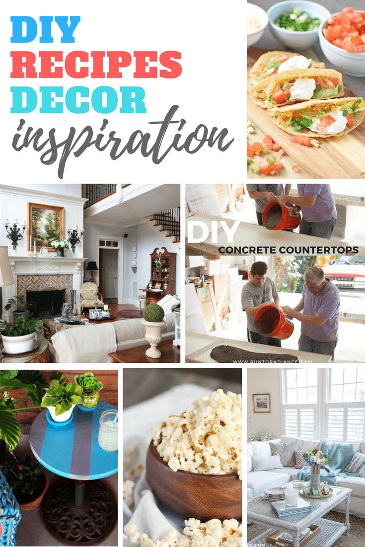 DIY Recipes and Decor Inspiration