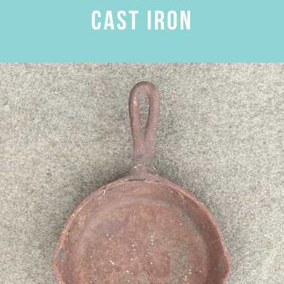 How To Restore A Cast Iron Skillet