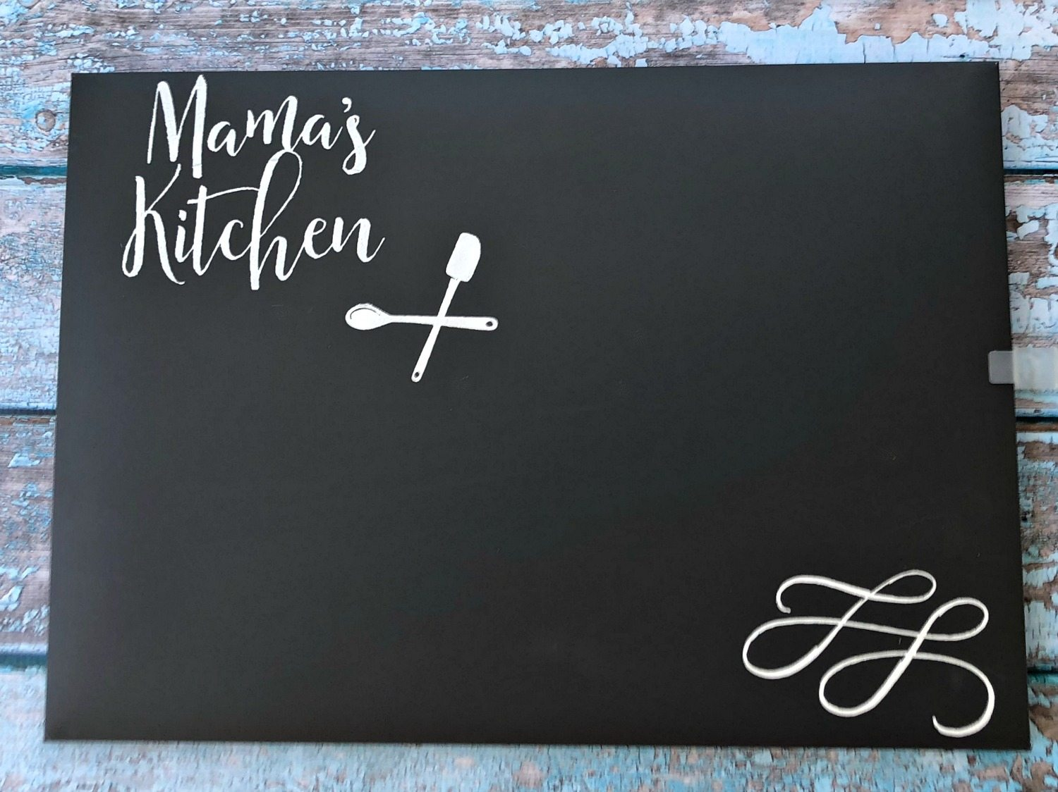 Mamau0027s Kitchen Chalkboard