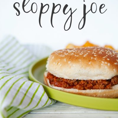 homemade sloppy joes recipe for Instant Pot