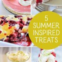 5 Delicious Summer Inspired Treats
