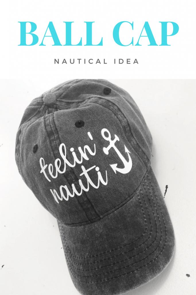 10 Summer Cricut Project ideas including a summer ball cap!