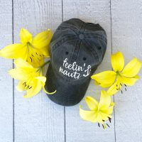 Cute Cricut idea for ball cap