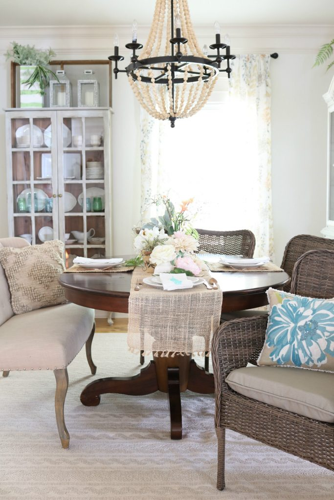 Dining Room refresh neutral curtains