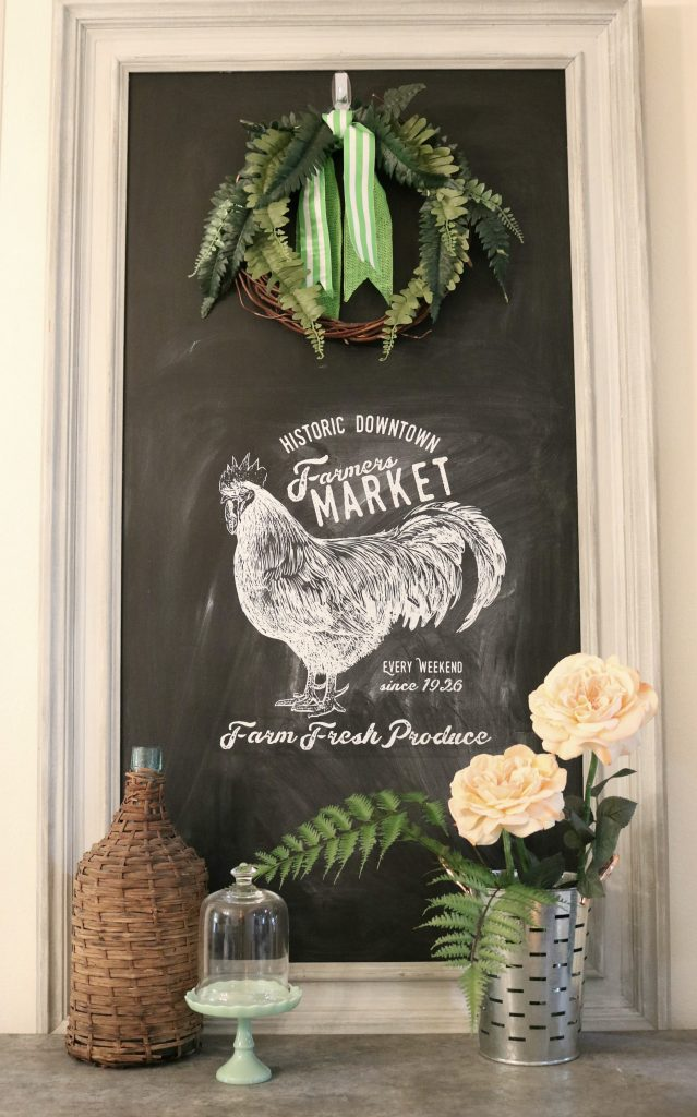 Farmers Market in Dining Room