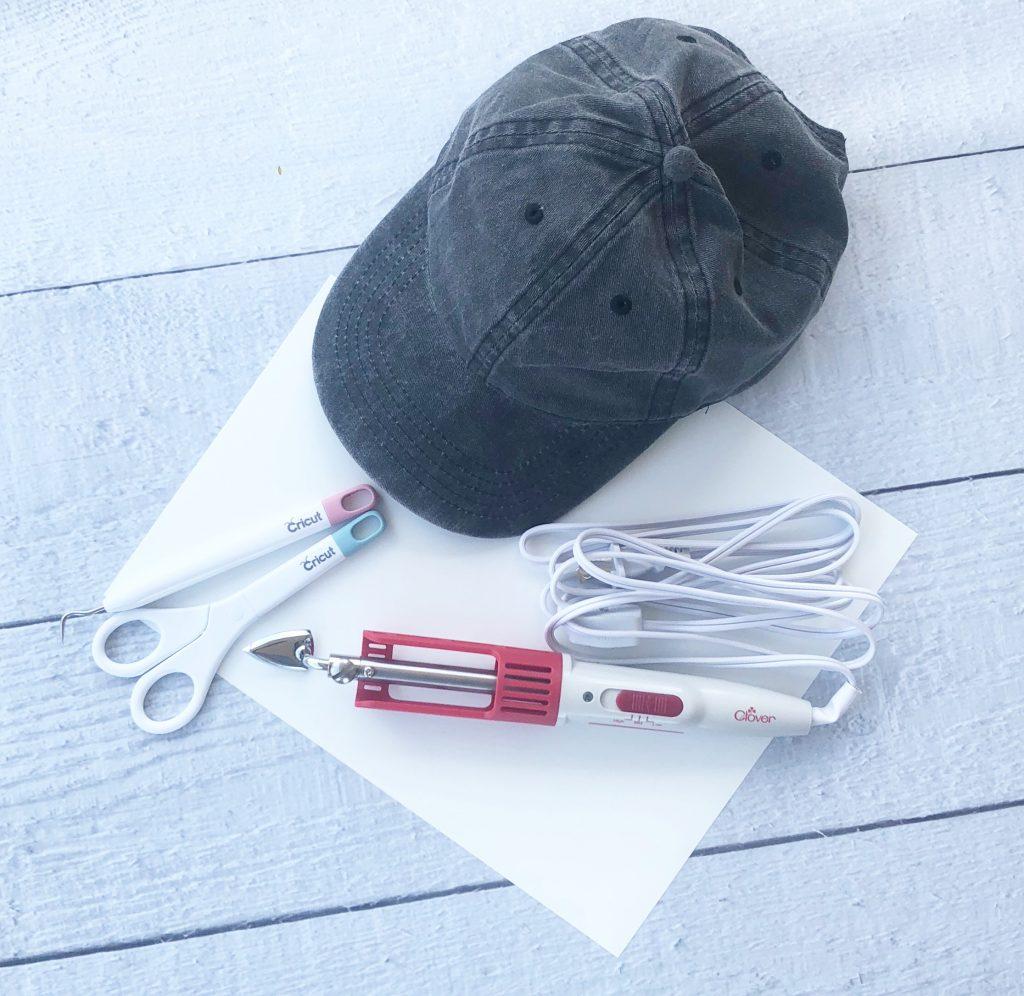 Supplies for ballcap