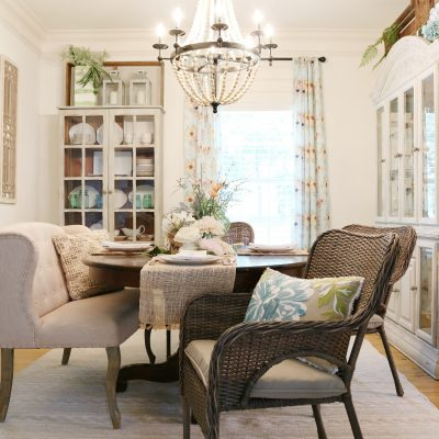 Casual Dining Room Refresh