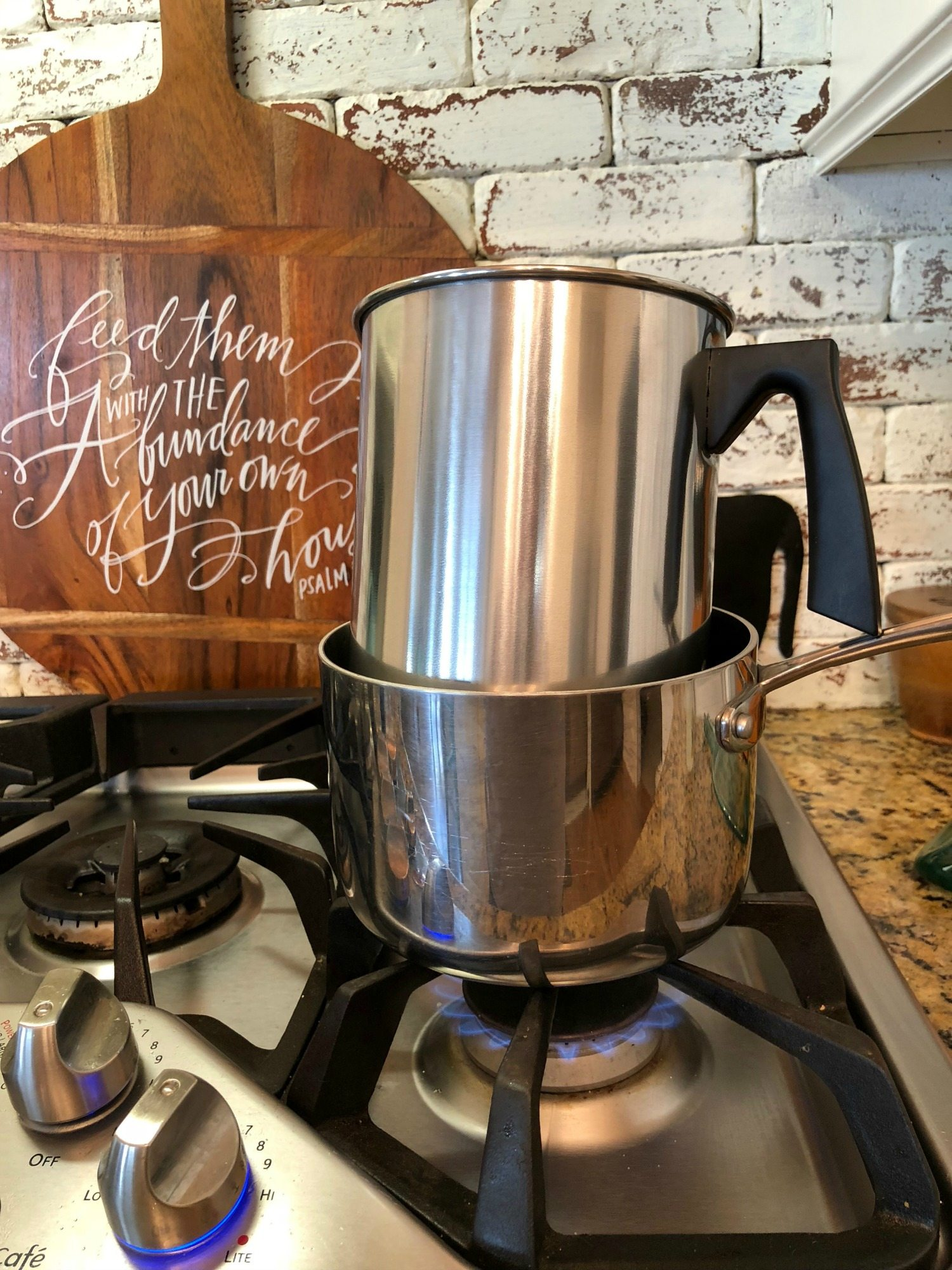 double boiler for wax