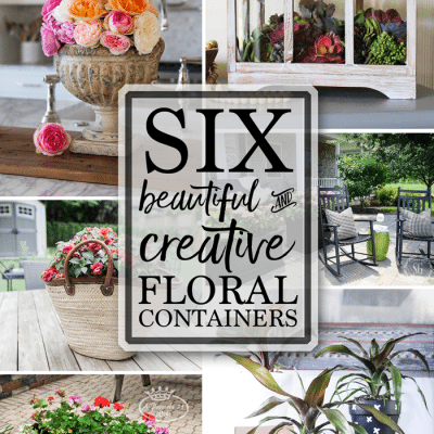 DIY Floral Containers + Inspiration Monday