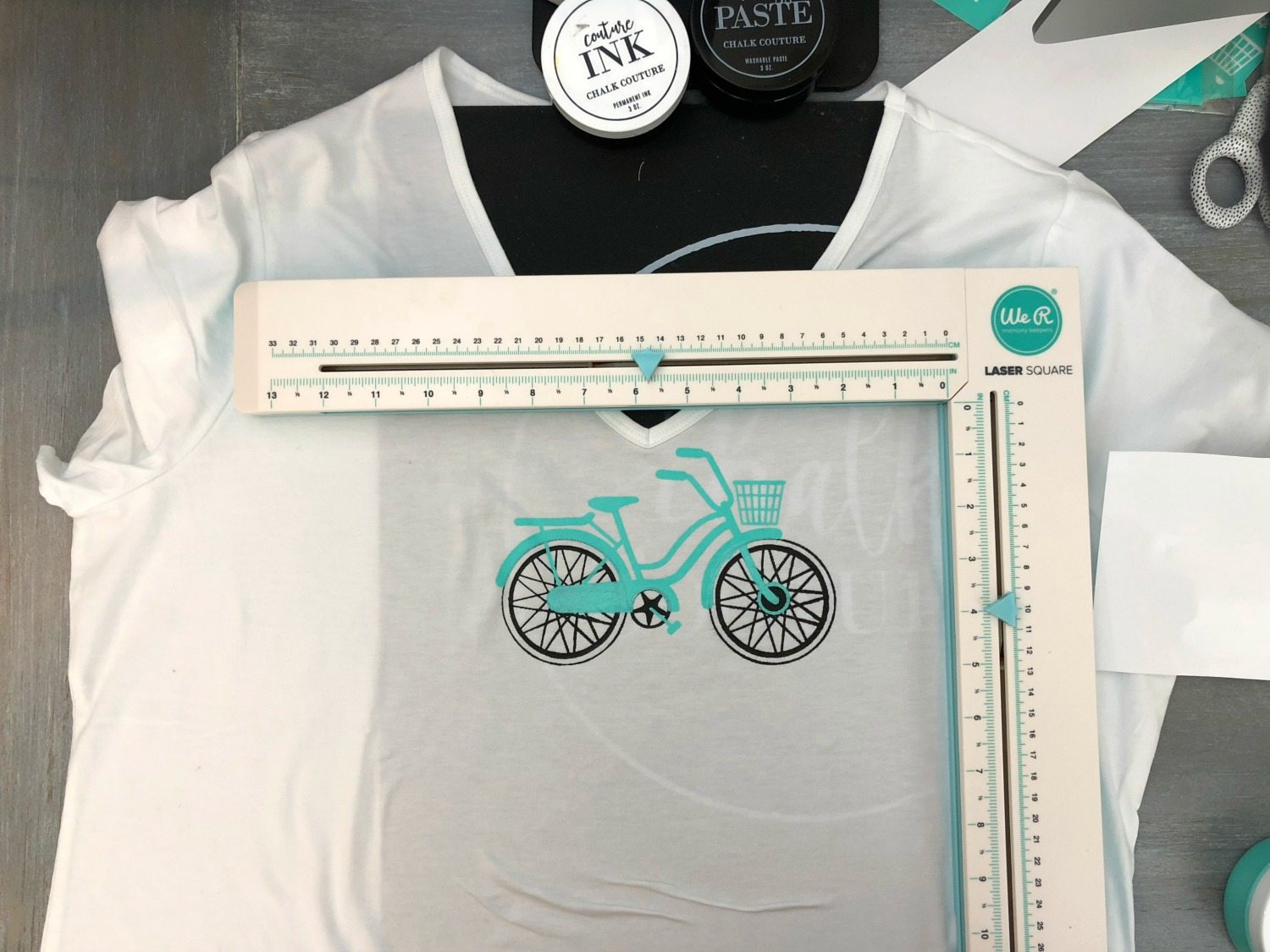 how to make a silk screen t-shirt - Chalk Couture