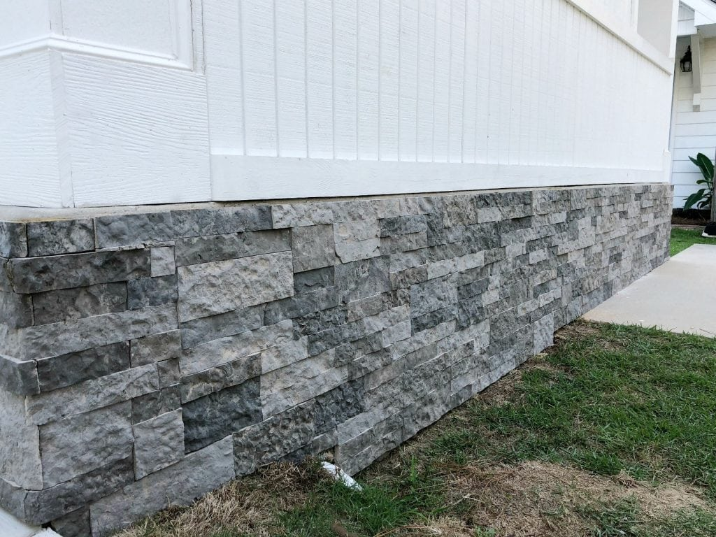 Cover blocks with Airstone