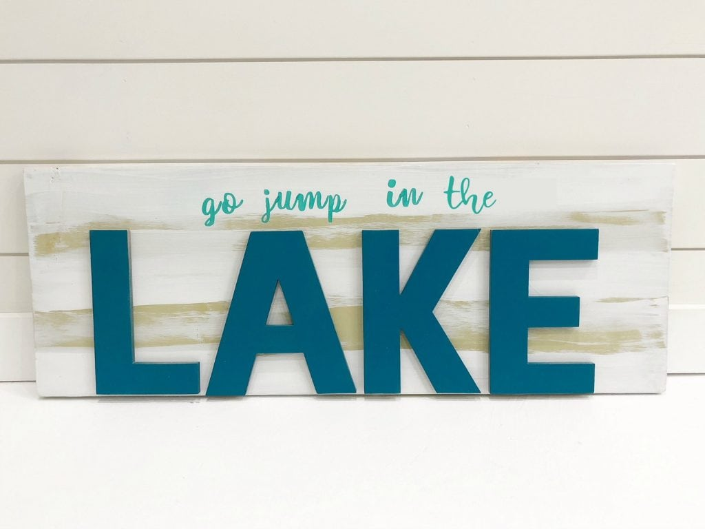 Easy to make sign
