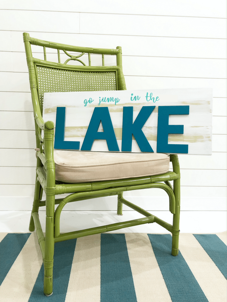 Make this Lake Sign