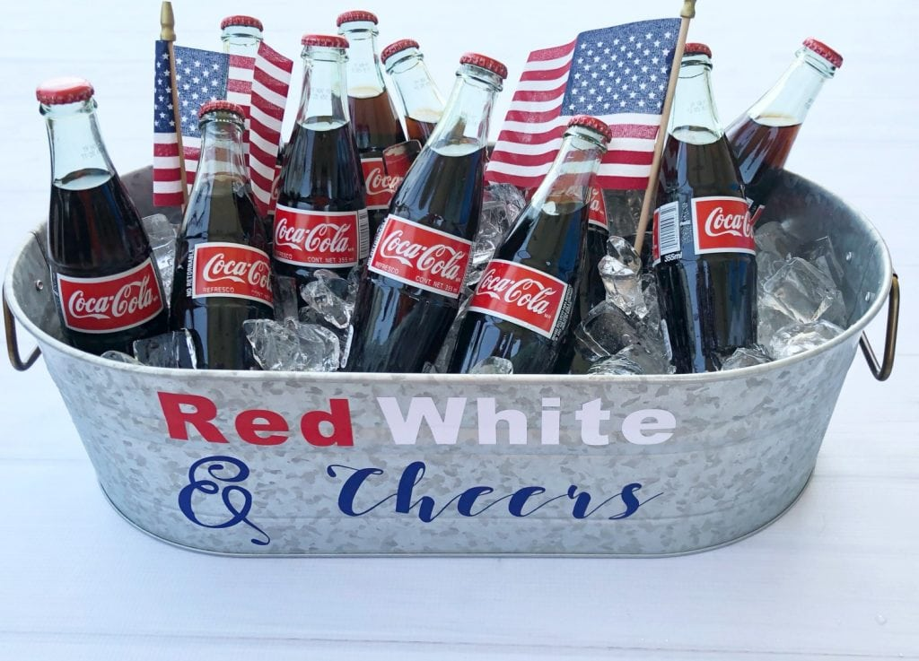 Red White Cheers to the 4th of July