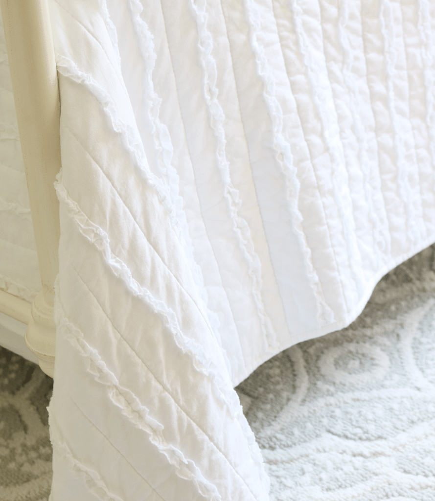 Ruffled Farmhouse quilt