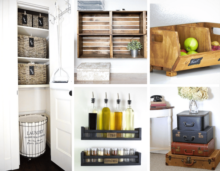 Awesome Farmhouse Storage Ideas