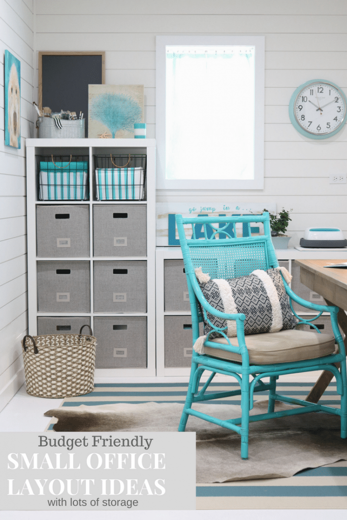 Budget friendly small home office