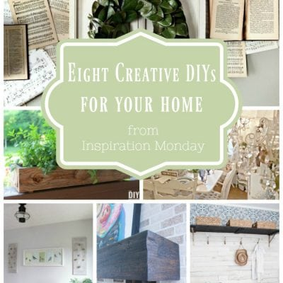 Creative DIY Home Projects + Inspiration Monday