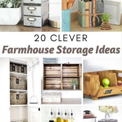 20 Clever Farmhouse Storage Ideas