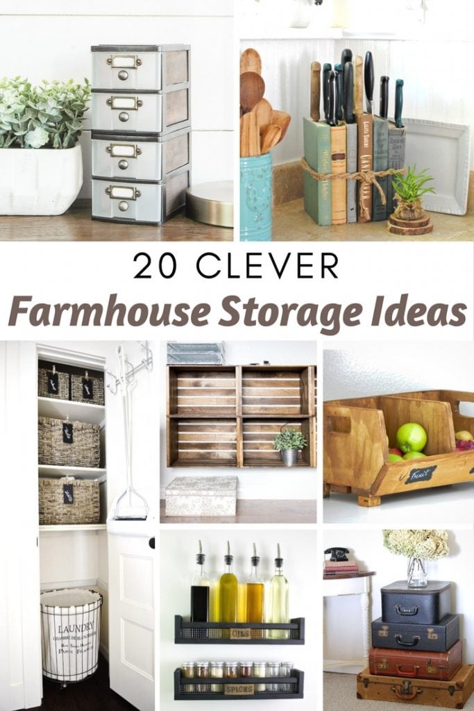 Farmhouse Storage Ideas