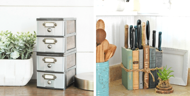 Rustic Farmhouse Storage Ideas