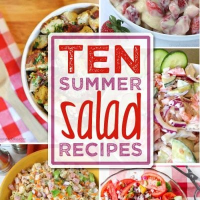 10 Summer Salad Recipes + Inspiration Monday