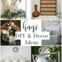Home DIY and Decor Ideas from Inspiration Monday