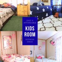 Kids Bedroom Refresh