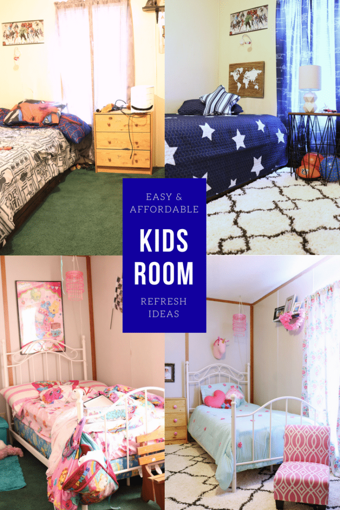 Kids Room Budget makeover ideas