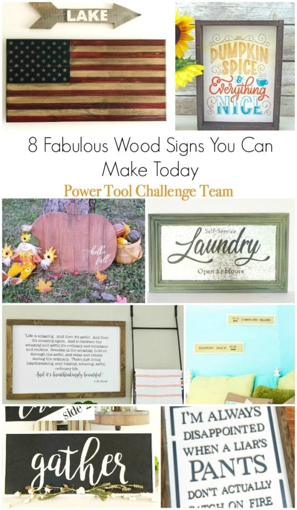 8 DIY signs that you can make