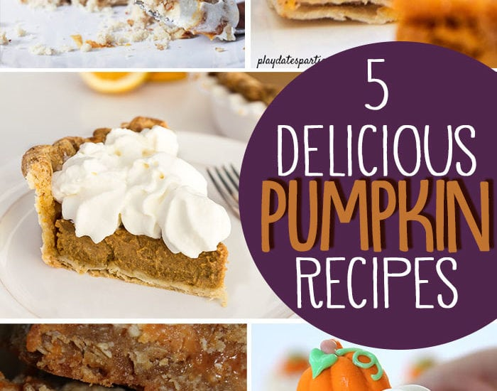 5 pumpkin recipes