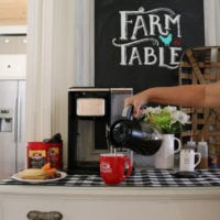 Coffee bar food and fun ideas