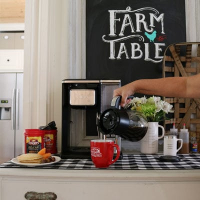 Brunch Ideas – How to set up a Quick and Easy Coffee Bar at Home