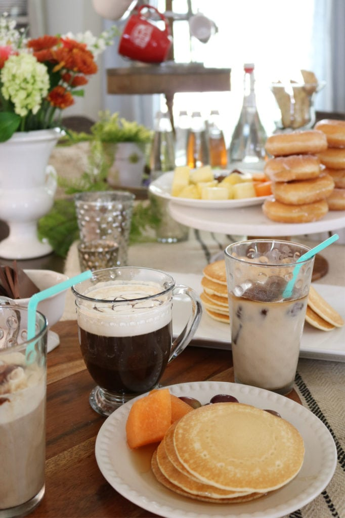 Coffee bar food ideas that make having a brunch at home easy.