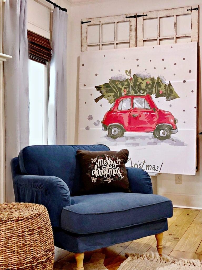 DIY Christmas Art Very Affordable