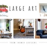Large cheap art