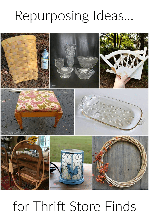 Repurposing ideas for thrift store finds