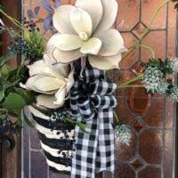 basket idea for front door