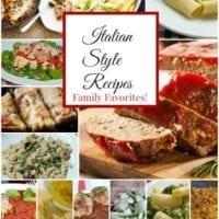 Italian Style Recipes