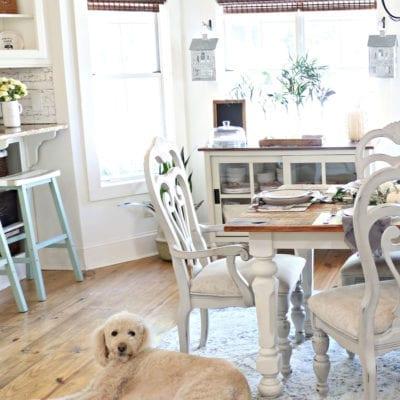 Cozy Fall Farmhouse Dining Room