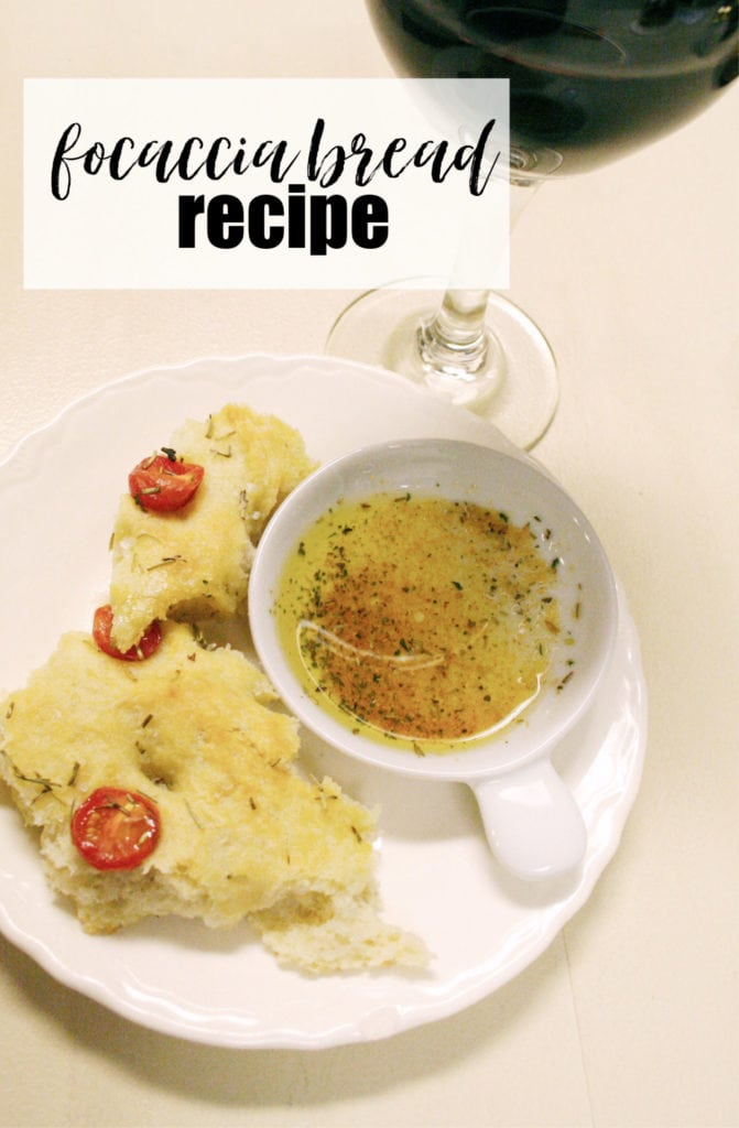 Recipe for easy focaccia bread make it at home