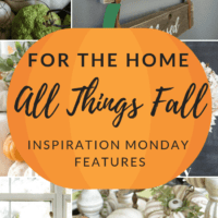Fall Home Ideas + Inspiration Monday