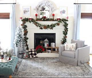 BHG Christmas Living room