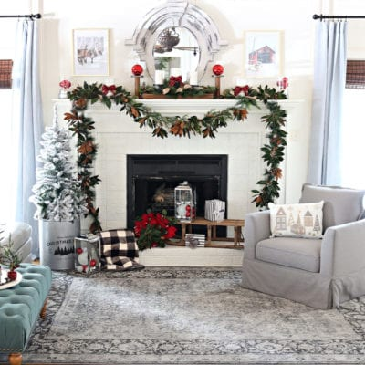 BHG Christmas Living room