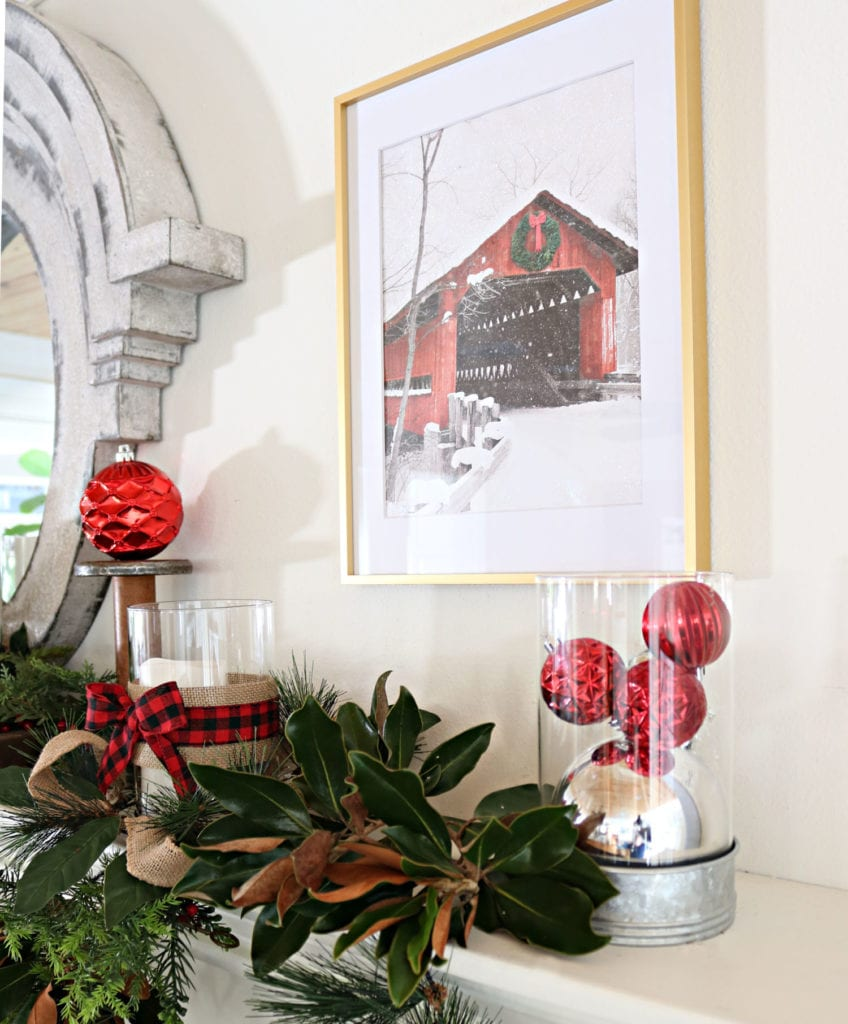 Barn BHG Frame Affordable Christmas Decor